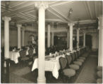 [Second class dining saloon]