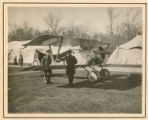 [Nieuport-17 captured by the Germans near Kiev]