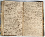 Pages 42-43. John Emory. [Journal]. Manuscript on paper. [England, 1820].