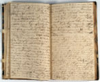 Pages 44-45. John Emory. [Journal]. Manuscript on paper. [England, 1820].