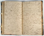 Pages 46-47. John Emory. [Journal]. Manuscript on paper. [England, 1820].