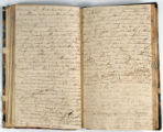 Pages 52-53. John Emory. [Journal]. Manuscript on paper. [England, 1820].