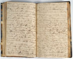 Pages 56-57. John Emory. [Journal]. Manuscript on paper. [England, 1820].