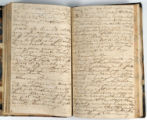 Pages 76-77. John Emory. [Journal]. Manuscript on paper. [England, 1820].
