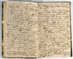 Pages 2-3. John Emory. [Journal]. Manuscript on paper. [England, 1820].