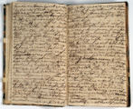 Pages 22-23. John Emory. [Journal]. Manuscript on paper. [England, 1820].