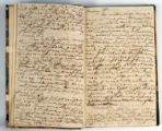 Pages 8-9. John Emory. [Journal]. Manuscript on paper. [England, 1820].