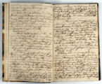 Pages 10-11. John Emory. [Journal]. Manuscript on paper. [England, 1820].