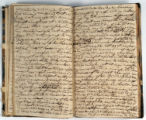 Pages 40-41. John Emory. [Journal]. Manuscript on paper. [England, 1820].