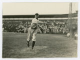 [Dallas Marines Pitcher Rip Collins Warming Up at Gardner Park in Dallas, Texas]