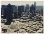 [Aerial View of Downtown Dallas]