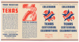 Centennial Year Calendar, Texas Centennial Celebrations