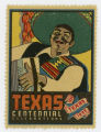 [Accordion Player Stamp,Texas Centennial Celebrations]