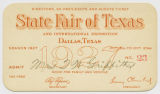 [Directors, Ex-presidents & Guests Ticket No. 23, State Fair of Texas and International...