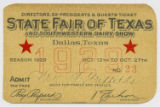 [Directors, Ex-presidents & Guests Ticket No. 23, State Fair of Texas and Southwestern Dairy...