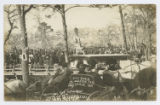 City Park Houston Tex. Jan. 19, 1908 Unveiling the Monument Spirit of Confederacy