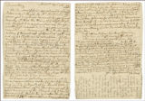 April 26, 1779 letter from Js [James?] Toms to Elizabeth [Fisher]