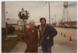 [Horton Foote and Bruce Beresford on Set of 'Tender Mercies']