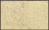 Letter to Mrs. Wadsworth [Judith Wordsworth], at Mr. Burkin's House in Spring Garden near the...