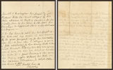 Partial letter to Sir Richard Hill with no salutation or address panel