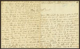 Letter to Mrs. Wadsworth [Judith Wordsworth] at Mr. Ford's Lodgings at the Vineyards.