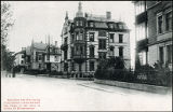 c. 1900 Postcard 'Carte Postale' of the Vincent apartment at Zurich 38 Eidmattstrasse. Noted on...