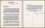 Letter to George E. Vincent, JHV's son, President of Rockefeller Foundation at that time, about J...