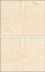 September 18, 1901 Letter John H. Vincent to Elizabeth D. Vincent