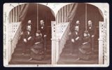 Stereoscopic card: Group on S.S. Assembly Grounds, Chautauqua, N. Y.