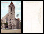 Postcard of First Methodist Church, Mansfield, Ohio