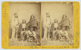 'Big Bow' (Kiowa war chief) and party