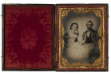 [Corporal John Henry with Wife, Confederate States Army]