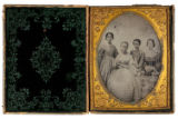 [McDonald children, three daughters and son of Judge J. G. and Julia D. McDonald, Grimes County,...