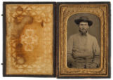 [Private James M. Wood, Confederate States Army]
