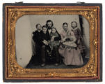 [Unidentified family of seven, possibly Fayette County, Texas]