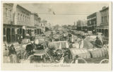 Hico Street Cotton Market.