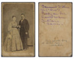 [Samuel T. Stone, ferry operator, and wife]
