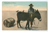 Hauling Water in Mexico.