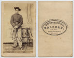 [Unidentified Private of the United States Cavalry Regiment, Union Army]