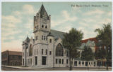 First Baptist Church, Beaumont, Texas.