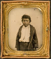 [Pease Ross, Comanche boy captured and reared by Sul Ross]