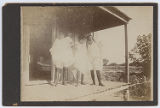 [Three women prostitutes? on porch, Cameron County, Texas]