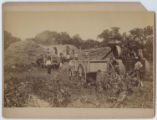 [Threshing hay, Henrietta, Texas]