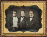 [Three men, Brownsville, Texas]