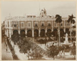 No. 2. Governor General's Palace, Havana, 11:45 a.m. January 1, 1899. Surrendering. Spanish Troops...