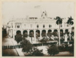 No. 3 Governor-General's Palace, Havana, 12:05 p.m. January 1, 1899. Surrendered. The Band Playing...