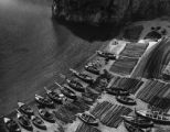 Fishing cove near Amalfi, Italy, 1943
