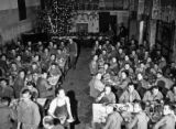 Christmas dinner 1944, 15th Medical General Laboratory, La Mostra, Naples