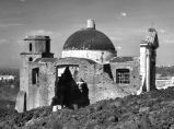 Church destroyed by lava, San Sebastiano al Vesuvio, 1944