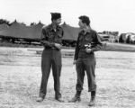 Bill Snavely and Melvin Shaffer, Italy, 1944